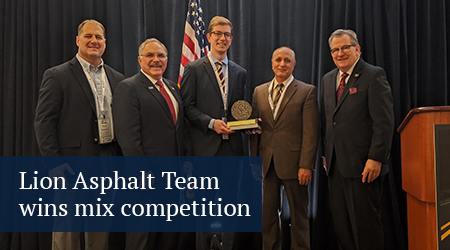 button to asphalt team mix competition story
